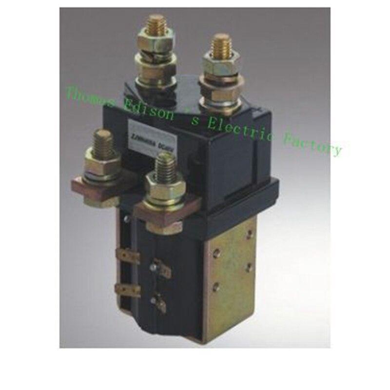 SW201 No + NC 12 В 24 В 36 В 48 В 60 В 72 В 400A Dc контактор ZJWH400A для погрузчик обработки рисунок Wehicle автомобиля двигатель насоса