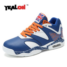 YEALON Basketball Shoes Men Sneakers Basket Homme Basketball Shoes Womens White Tenis Basquete Masculino Basket Homme Basse
