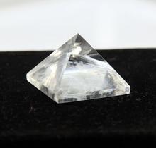 2015 White crystal clear quartz rock Engraved 30mm Pyramid point pillar Carved Stone Chakra Stones Healing Reiki Free shipping недорого