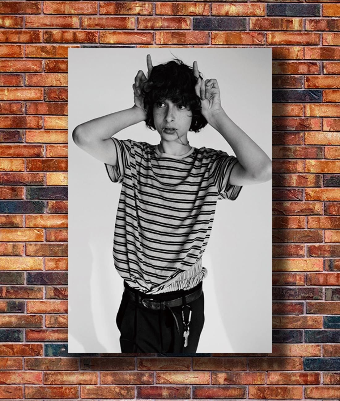 Hot Finn Wolfhard TV Series Child Star New Art Poster 40 12x18 24x36 T-5216