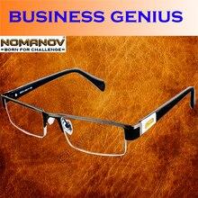 = Nomanov марка = благородный королевский стиль titanium сплав кабинета министра не сферические очки для чтения + 0.75 + 1 до + 6