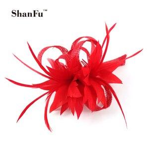 ShanFu Women Small Sinamay Fas