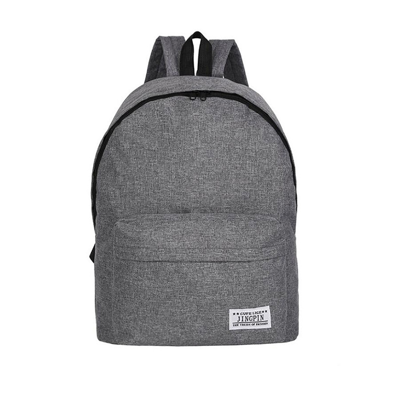 Backpack Women And Men Canvas Backpack School Bags Fashion Women's Canvas Bag Travel Backpacks Large Capacity Zipper A4720