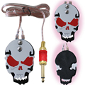 Free shipping Promotions!Tattoo SKULL red design Foot Pedal Switch MINI THIN TATTOO FOOTSWITCH TATTOO FOOT PEDAL