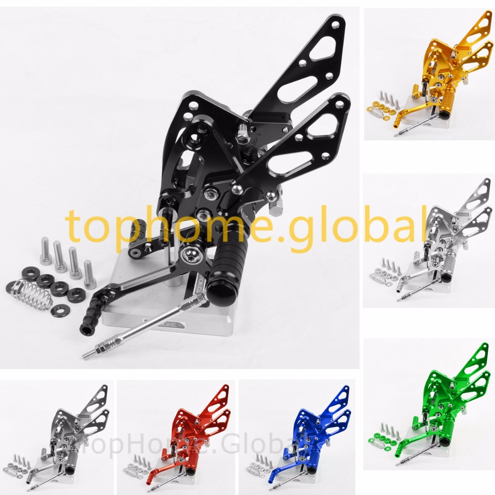 For Kawasaki Z1000 / ABS 2011 2012 2013 2014 2016 Rearsets Foot Pegs Footpeg Rear Shift Brake Set CNC литой диск replica legeartis concept ns512 6 5x16 5x114 3 et40 d66 1 bkf