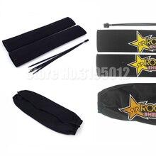 Nova frente garfo protetor amortecedor guarda envoltório capa pele para motocicleta motocross pit dirt bike ktm yzf250 crf250 crf450