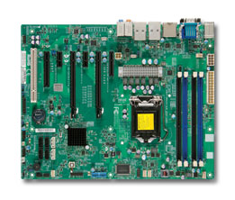 OEM X9SAE-V Server Motherboard 1155 Pin Support 1200V2 Series C216 Chip DDR3 Used 90%new