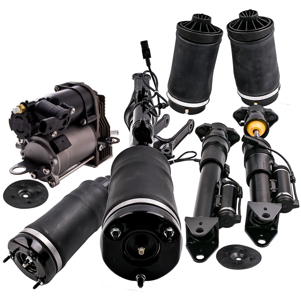 Set of Complete Shock Absorber Air Suspension+Air Spring Bag+Air Pump fits for Mercedes R-Class W251 2006-2013 2513202231 free shipping for mercedes w251 air spring bag rear r350 r500 r class air suspension shock strut air ride 2513200325 2513200425