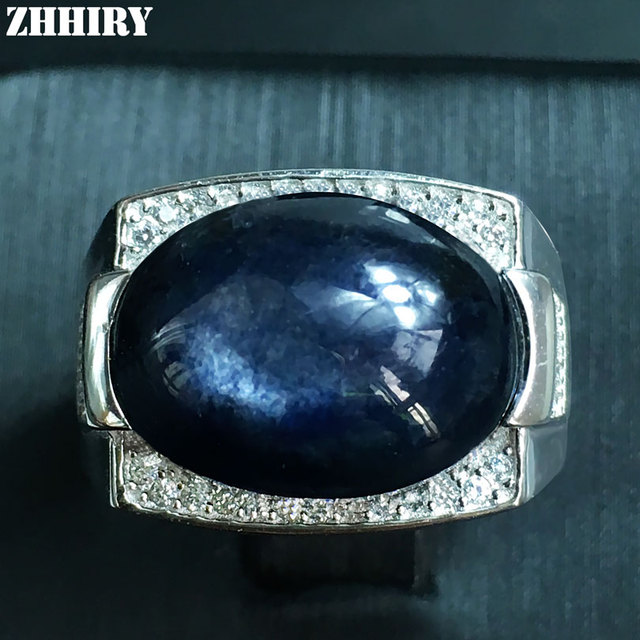 carat alibaba women genuine detail rings natural large india sapphire product diamond designer blue new