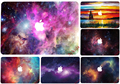 Estrelas universo colorido etiqueta para macbook air 11 12 13 pro 13 15 retina protetora da pele poster imagem bonita galaxy bonito