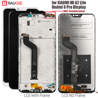 Display For Xiaomi Mi A2 lite Lcd Screen Redmi 6 Pro Lcd Display Touch Screen Replacements For Xiaomi A2lite/redmi6 pro Display
