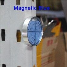 QASE Магнитный уровень пузырьковый Универсальный Уровень Дух круглый горизонтальный с пузырем Sze 60*12 мм цвет зеленый/синий/белый