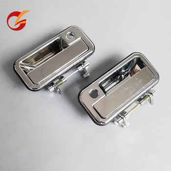 use for isuzu pickup 1988-1995 honda passport door outer handle front rear metal type chrome image