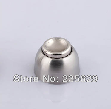 Free Shipping,Stopper for  door, 201 stainless steel magnetic door stopper,Wall mounted Door Stopper,Door Holders,High suction selling door magnetic stopper suction stainless steel alloy wall top 4 color