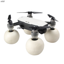 цена на Floating Ball Extended Landing Gear Legs for DJI Spark Drone Accessories Upgrade Parts Heightened Landing Skid Kit