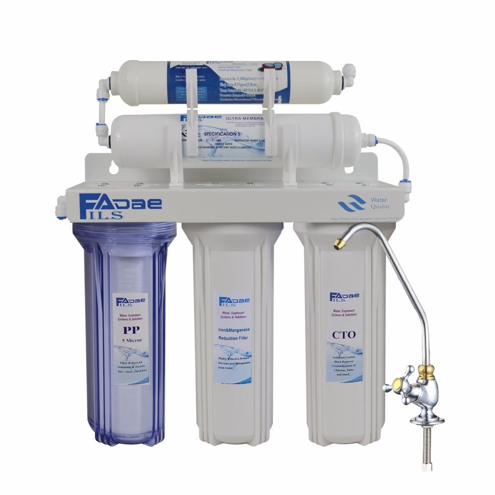 Premium Household 5 Stage Ultra Filtration Undersink