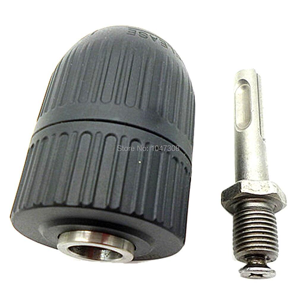 "Keyless drill chuck 2-13mm to 1//2/"" 20UNF thread w// SDS Plus adapter Hot"