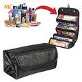 Hot Sale Nylon Waterproof Makeup Bag Fashion Cosmetic Cases Box Lady Cosmetic Bags Travel Bag Toiletries Ladies Bolsas HZB-007