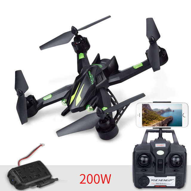 Quadcopter Drone 4CH 6 Axis Gyro 200MP 720P Adjustable Flying App Control WiFi FPV Real-Time Hold Headless Mode