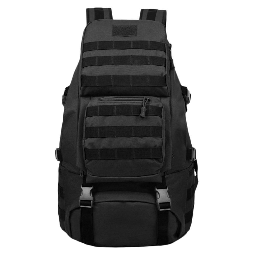 55L grande capacité sac de sport sac à dos sac d'escalade en plein air sac étanche sport voyage sac à dos armée Camouflage livraison gratuite