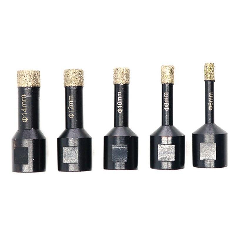 5 pièces/ensemble 6-14mm foret outils professionnel électrique meulage couteau gravure Machine ménage menuiserie outils foret