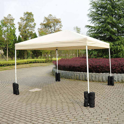 1*Windproof Sandbag Tent Shed Support Frame Fixed Sandbag Outdoor Sun Shelter Tent Patio Accessory Sand Bag