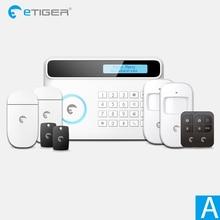 Security Protection - Security Alarm - New Design Etiger S4 GSM PSTN Wireless Home Alarm Security System RFID Panel Smart Home  Burglar Alarm System DIY Standard A Kit