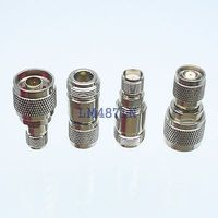 Kit Adapter 4pcs Set N To RP TNC Type Male Female RF Connector Test Converter