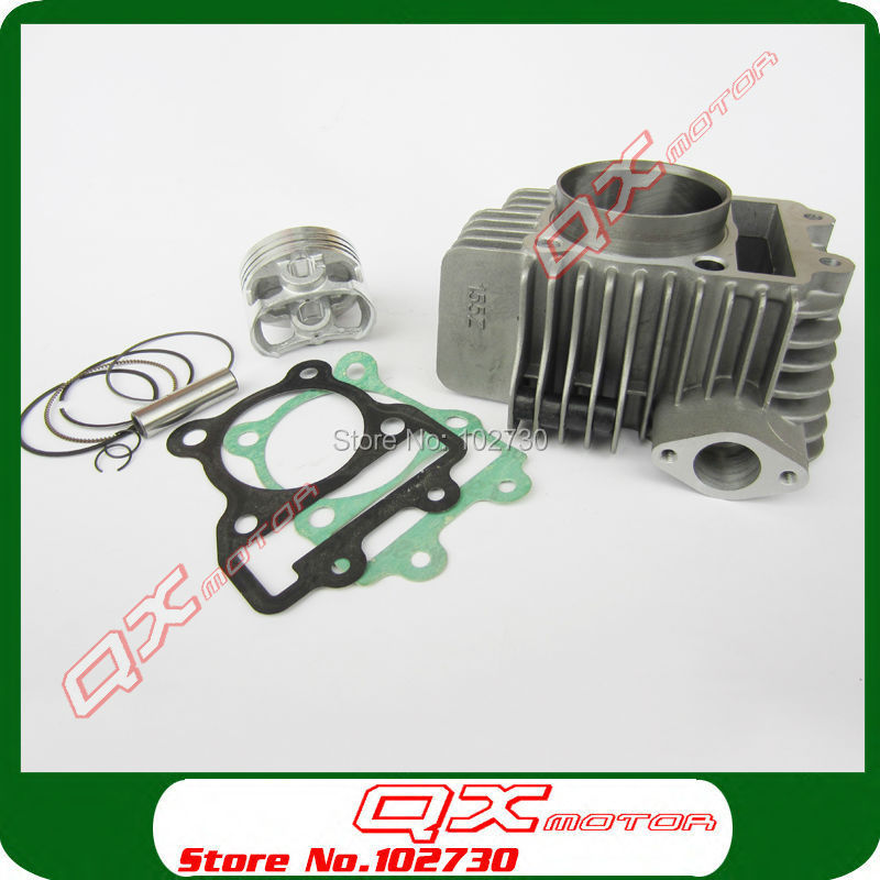 цена на Zongshen 155z Engine Cylinder with 60mm piston kit cylinder head gasket for Kayo 150 155 160cc Dirt Pit Bikes Free shipping
