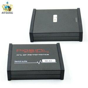 Image 1 - Yeni siyah PIASINI v4.3 usta tam sürüm ECU programcı seri paketi (JTAG BDM  K line L line RS232  CAN BUS)