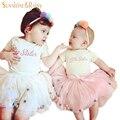 Ins * Fita Princesa Tutus Pettiskirt Saia Tutu Bebê Com Bolas Coloridas Para As Meninas Do Bebê Saia Tutu Saias Fofas 1-4Year