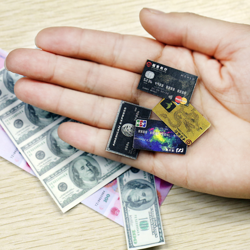 BJD Props Miniature Money Rmb Usd Bjd Wallet