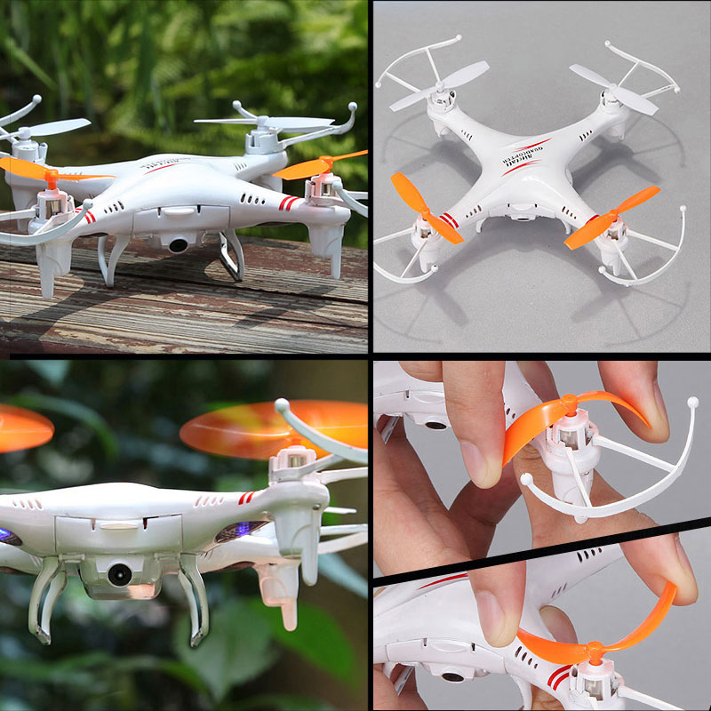 M62R 4CH 6 Axis Gyro RC Quadcopter Drone FPV 0.3MP Cámara de Velocidad de Conmut