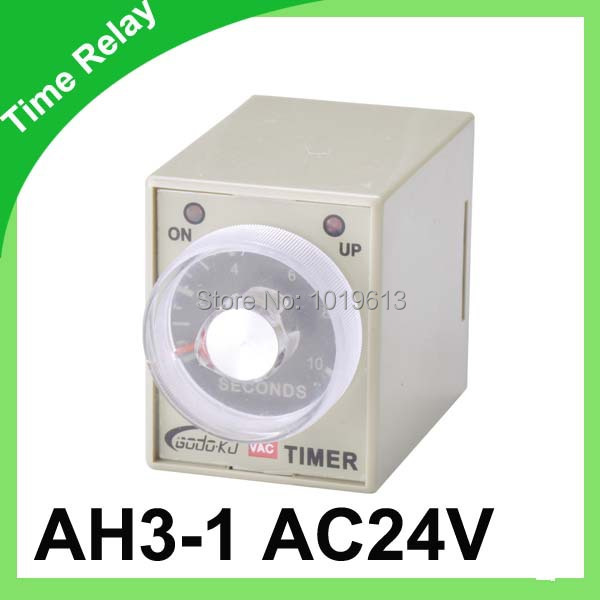 0-10 second AH3-1 Power on delay timer <font><b>relay</b></font> <font><b>24VAC</b></font> time <font><b>relay</b></font> image
