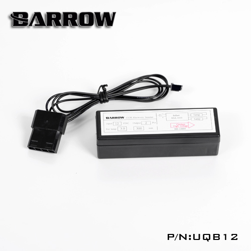 Barrow T virus tank fluorescent lighting component driver for  computer water cooling  UQB12