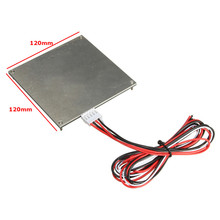New PCB Heated Bed 120*120mm 12V MK2B Makerbot Kit For Mendel RepRap 3d Printer Durable Quality