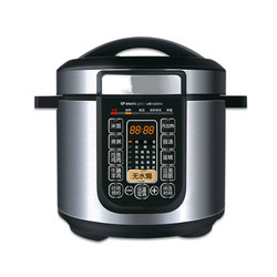 Electric Pressure Cookers Intelligent electric pressure cooker 5L / 6L make an appointment with no water gratin double bile pres