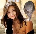 4 В Beautie Польностью Швейцарский Шнурок Женщины Парик, 14 дюймов Индийский Реми Волосы Женщин Шиньоны