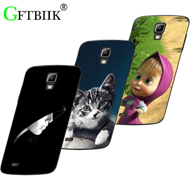 "Hot Ultra Thin Back Cover For Samsung Galaxy S4 Active i9295 GT-i9295 5.0"" Protective Phone Case Cat Handsome Tiger Fruits Cases"