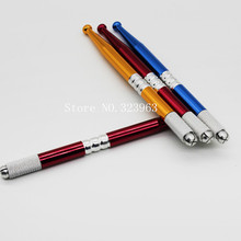 Manual Tattoo Pen For Permanent Makeup Pen Eyebrow Tattoo With Blade Needle Microblading Pen