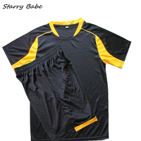 Two Pieces Set Clothes For Boys Soccer Sets Tops Short Pants Baby Kids Sports Summer Clothing