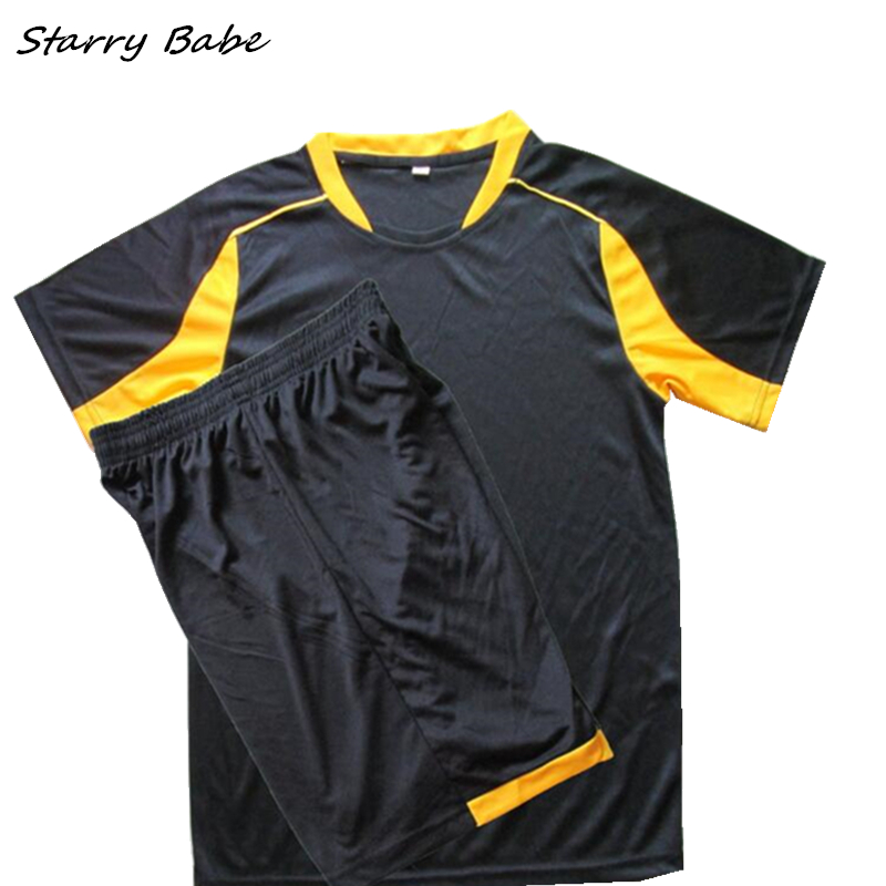 Two Pieces/Set Clothes For Boys Soccer Sets Tops+Short Pants Baby Kids Sports Summer Clothing Sets Children Footabll Suit 2016 boys soccer uniform 2017 summer wear short sleeved shirt quick drying fabric football suits children s clothing baby
