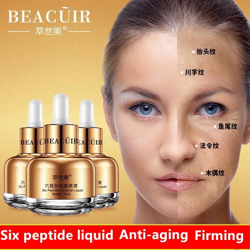 Șase Peptide Anti-Îmbătrânire Anti-Îmbătrânire Anti-Rid Anti-Îmbătrânire Ingredient pentru Îngrijirea Pielii 30ml