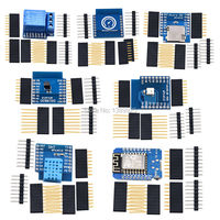 7 Kinds WeMos D1 KIT WiFi Board D1 Mini DS18B20 WS2812 Micro TF Card 1 Channel