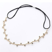 Hot Women's Crystal Metal Rhinestone Head Chain Jewelry Headband Head Piece Hair Band Wedding Hair Accessories trendy style new fashion hot women handmade pearl head chain jewelry headband headpiece hair band gift 1pc