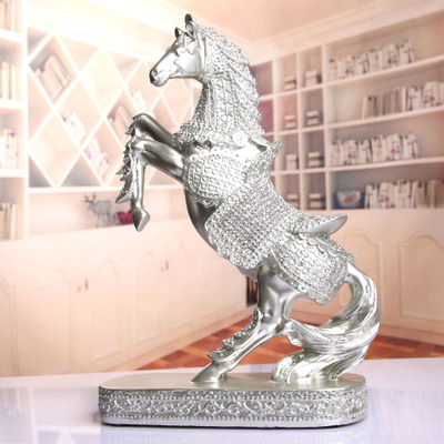 Modern Modern home decoration decoration creative Home Furnishing Horse TV cabinet cabinet office room decoration crafts gifts