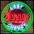 Última Chance de Sinal de néon Marca Garage Luz neon Sign Beer Bar Pub Sign placa Artesanal Hotel sinais de Néon para venda dropshipping