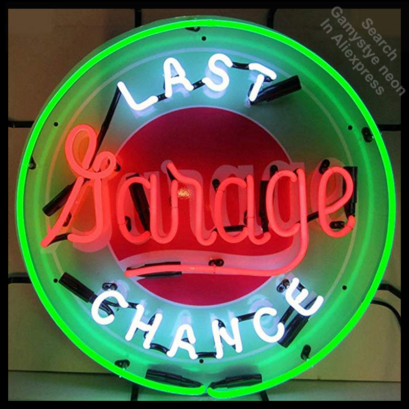 Neon Sign Last Chance Garage neon Light Sign Brand Beer Bar Pub Sign Handcrafted board Hotel Neon signs for sale DropshippingNeon Sign Last Chance Garage neon Light Sign Brand Beer Bar Pub Sign Handcrafted board Hotel Neon signs for sale Dropshipping