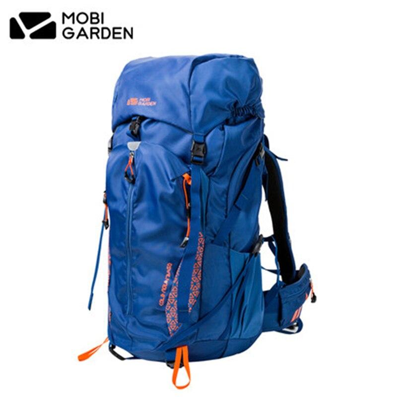 Mobi Garden/Сумка Открытый Восхождение сумка Кемпинг Пеший Туризм L Pack Водонепроницаемый рюкзак для обоих Для мужчин и Для женщин 50L