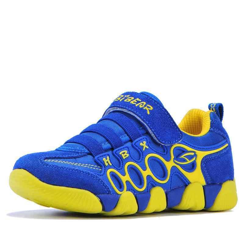 2019 ילדים חדשים חיצוני נעלי הליכה מקרית בני בנות ספורט ריצה נעלי אופנה אמיתי עור תלמיד ילדי סניקרס